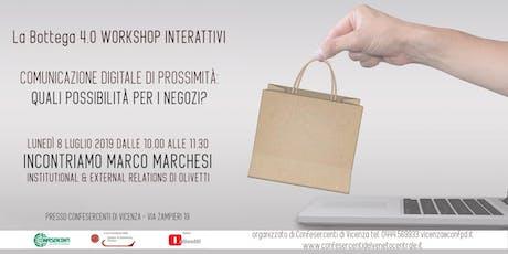 La Bottega 4.0 - Workshop Interattivo biglietti