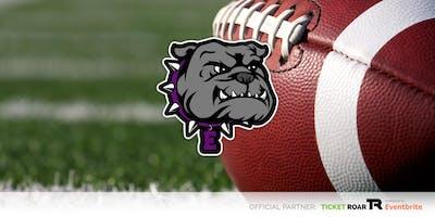 Everman vs Burleson White/Purple Team Football