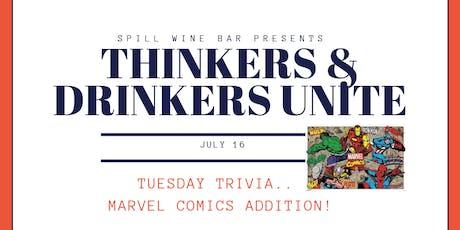 TRIVIA NIGHT - Marvel Comics Addition tickets