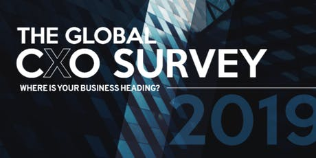 Webinar - The global CxO Report: Where is your business heading? tickets
