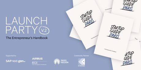 Startup Guide Paris Launch Party tickets