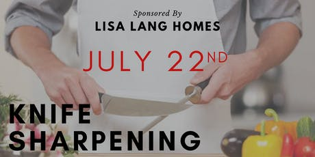 Free Event - Knife Sharpening tickets