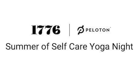 Summer of self care yoga night tickets