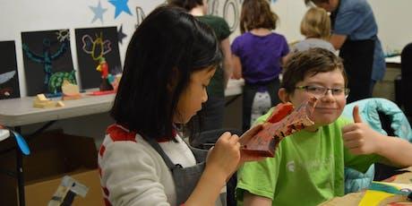 Summer Art Camp: August 5-9, 2019 - Kids ages 7-12 tickets