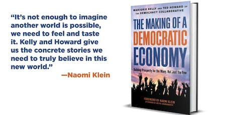 London Book Launch: The Making of a Democratic Economy with Ted Howard tickets