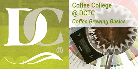 Coffee Brewing Basics tickets