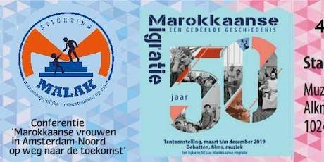 Marokkaanse vrouwen in Amsterdam-Noord op weg naar de toekomst tickets