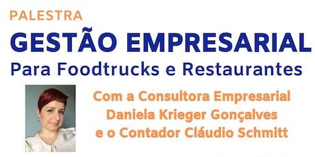 Gestão Empresarial para Foodtrucks e Restaurantes ingressos