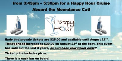 Moondance Happy Hour Cruise for Buffalo CARES