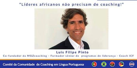 Webinar Multicultural: Líderes africanos não precisam de coaching! bilhetes