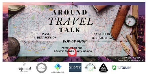 AROUND TRAVEL TALK / Pop-up Shop.