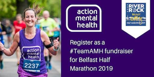 Register as a fundraiser for AMH at the Belfast City Marathon 2019