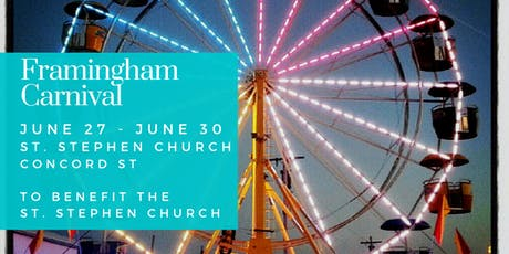 Framingham St. Stephen Church Carnival tickets