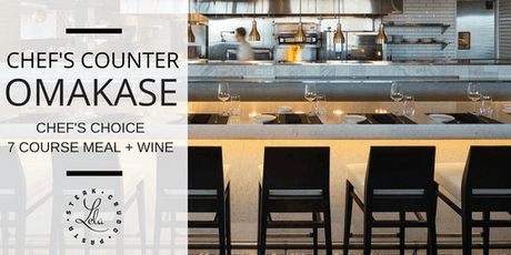 Chef's Counter Omakase tickets