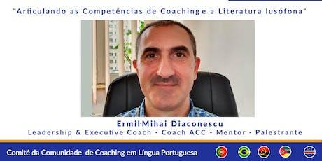 Webinar Multicultural: Articulando as Competências de Coaching e a Literatura lusófona bilhetes