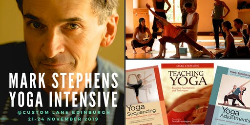 Mark Stephens 4 Day Yoga Intensive Training