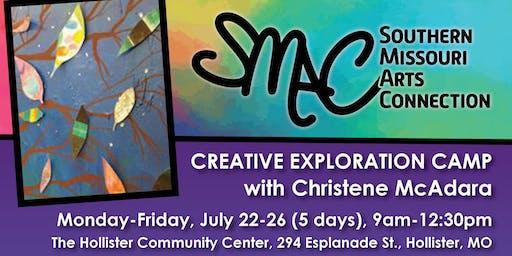 Creative Explorations Art Camp