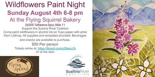 Susitna River Coalition Fundraiser: Paint Night