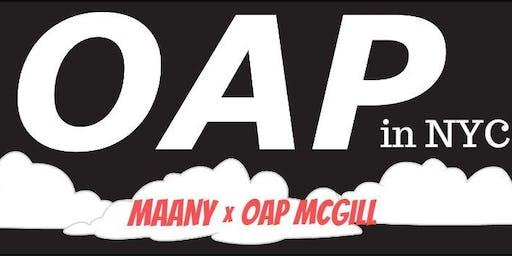 OAP in New York