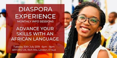 African Language Learning for Business - Diaspora Experience Info Session tickets