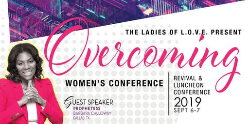 Overcoming Women's Conference - Vendor Registration