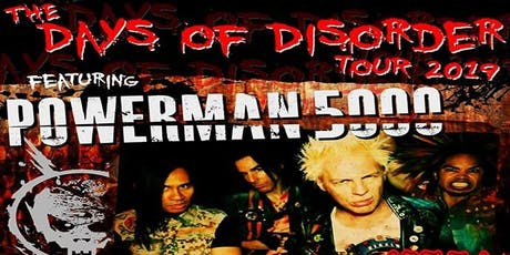 Powerman5000 w/ Hed Pe & Adema at Q & Z Expo Center I Ringle, WI tickets