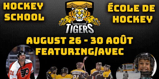 Tigers Summer Hockey School - École de hockey d'été des Tigres