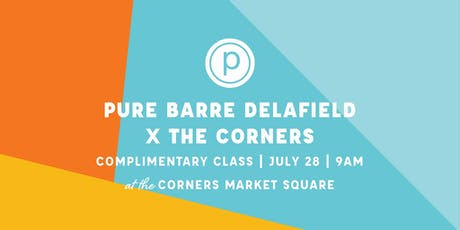 Pure Barre Delafield Pop-Up x The Corners tickets