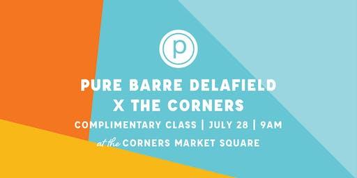 Pure Barre Delafield Pop-Up x The Corners