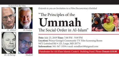 """The Principles of the Ummah - The Social Order in Al-Islam"""