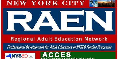 TABE 11/12 Administrator Training Pt. 1 & 2- BALC (Free parking) tickets
