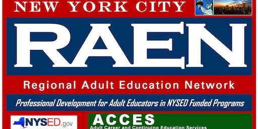 TABE 11/12 Administrator Training Pt. 1 & 2- BALC (Free parking)