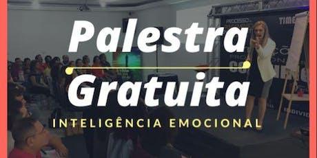 Palestra Inteligência Emocional com Coaching - em Amparo ingressos