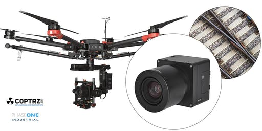COPTRZ hosts a PHASE ONE IXM series UAV camera demonstration day