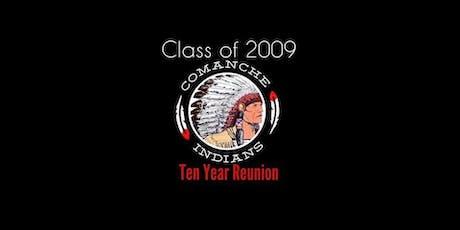 Comanche High School Class of 2009 Reunion tickets