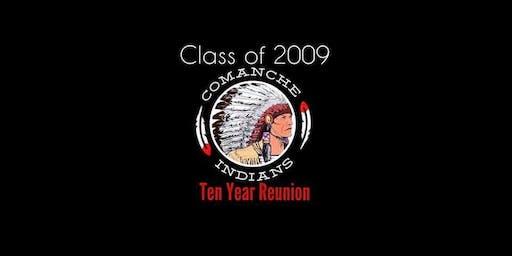 Comanche High School Class of 2009 Reunion