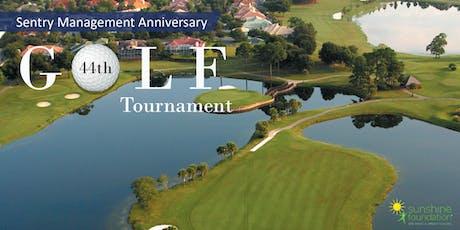 Sentry Management 44th Anniversary Golf Tournament tickets