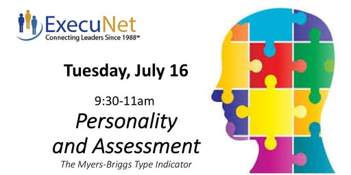 ExecuNet July:  Personality & Assessment