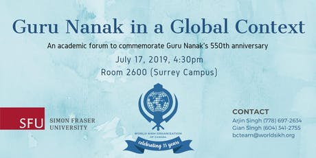 Guru Nanak in a Global Context tickets
