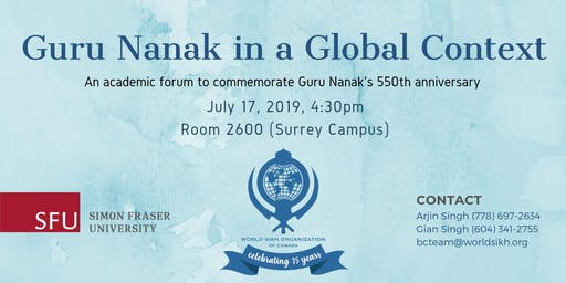 Guru Nanak in a Global Context