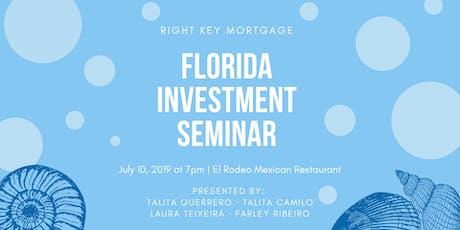 Florida Investment Seminar tickets