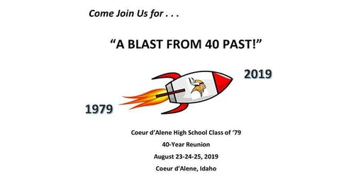 CDA High Class of 79 40-Year Reunion Fair Fun Day Dinner Aug 24, 4-6 PM