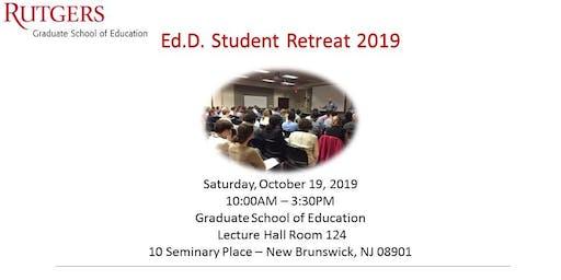 Ed.D. 2019 Student Retreat