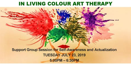 In Living Colour - Art Therapy for Self Awareness and  Actualization tickets