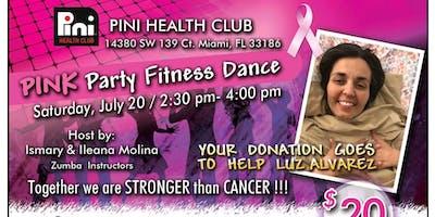 Luz Alvarez Pink Party Fitness Dance