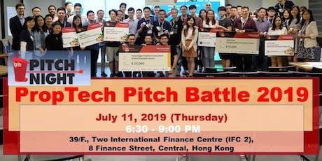 PropTech Pitch Battle- July 11, 2019 (Thursday) tickets