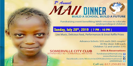 Build A School - Build A Future Dinner