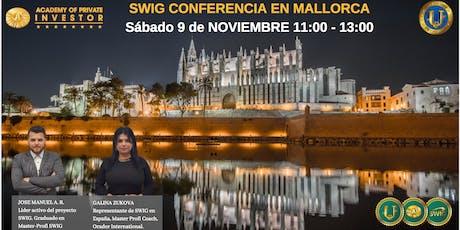 Te invitamos a nuestro evento de SWIG y STO CRYPTOUNIT en MALLORCA Tickets