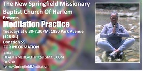 Springfield New Baptist Meditation Group tickets