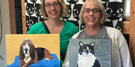 Paint Your Pet Portrait tickets